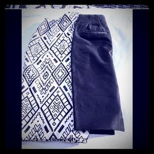Dresses & Skirts - Car a Trafaluc XXS 00 tribal skirt cream black